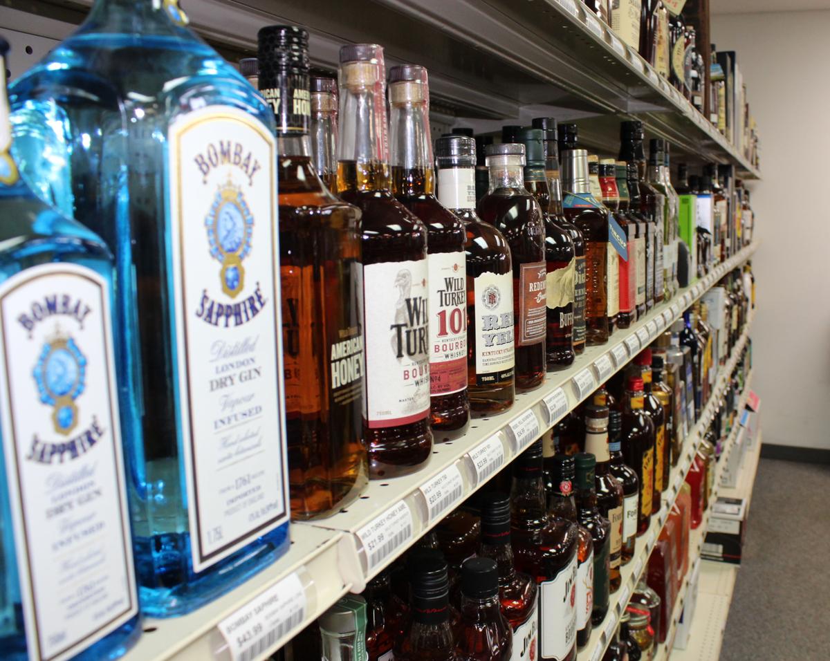 Woody's Liquor of Rochester - Spirit Shelf